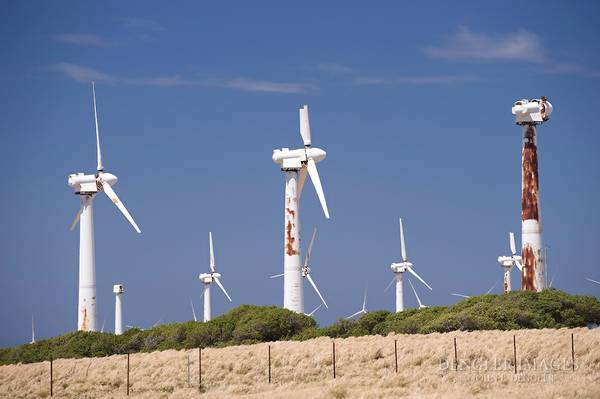 Rite On Rusted Wind Turbines