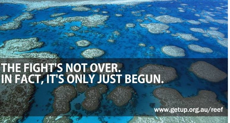 Rite-ON GET UP and Save the reef
