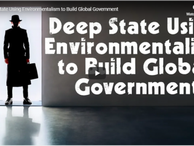 Environmentalism To Built Global Government Rite-ON!