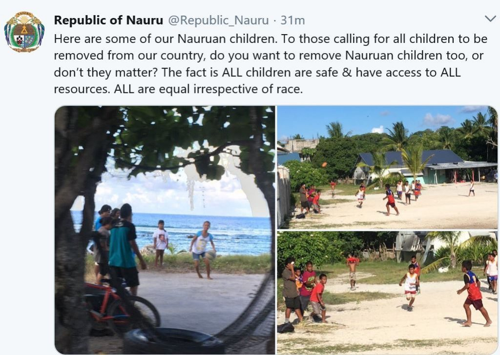 Rite-ON! Children born after arrival on Nauru