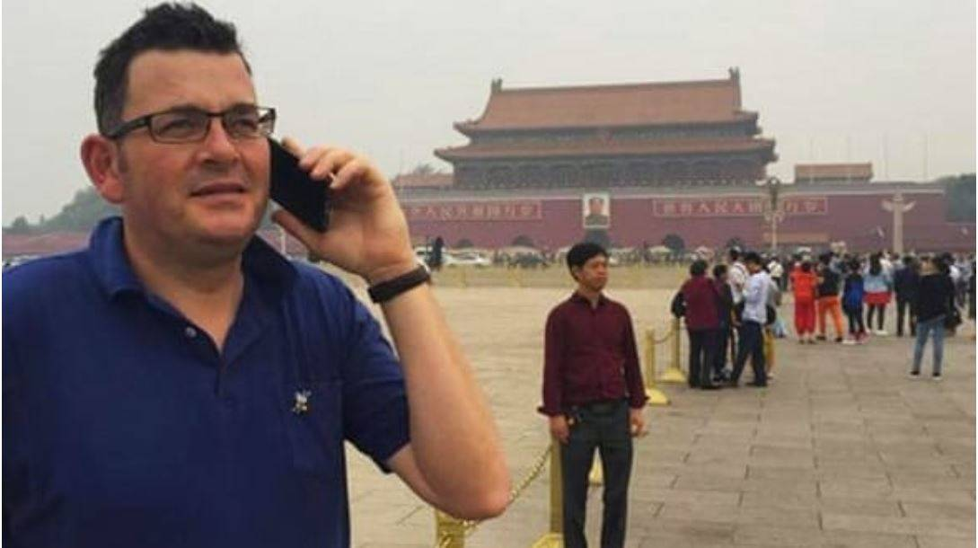 Daniel Andrews Labor China