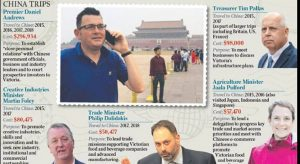 Daniel Andrews and China Rite-ON!