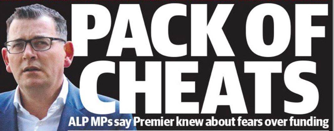 Daniel Andrews - Pack of Cheats Rite-ON!
