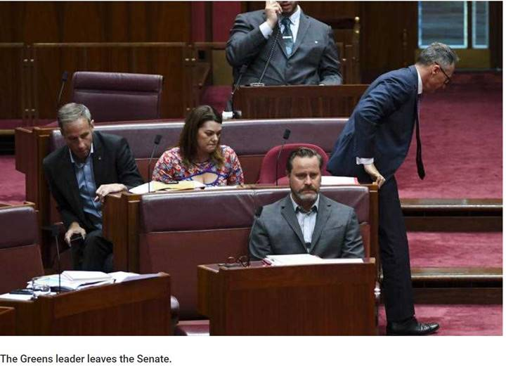Senator Di Natale suspended from parliament