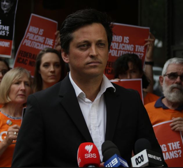 Paul Oosting from GetUp. Full of Hate Speech