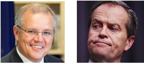 Bill Shorten & Scott Morrison