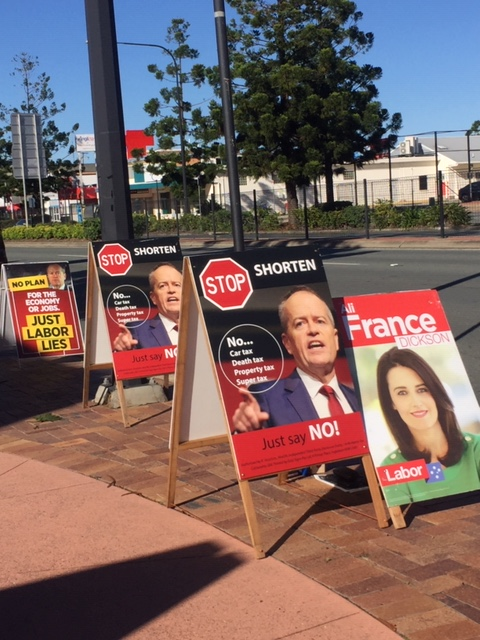 Rite-ON's election posters