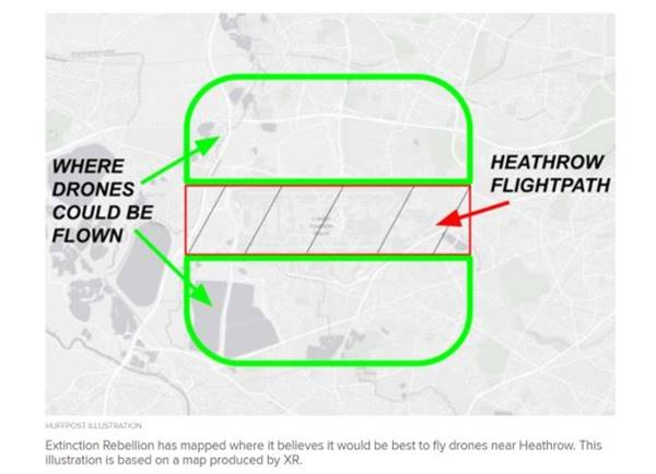 Extinction Rebellions plans to shut down Heathrow Airport