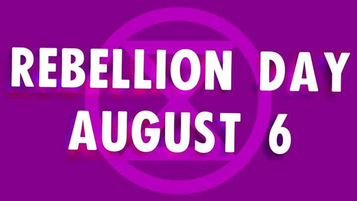 XR Rebellion Day, Brisbane, August 6