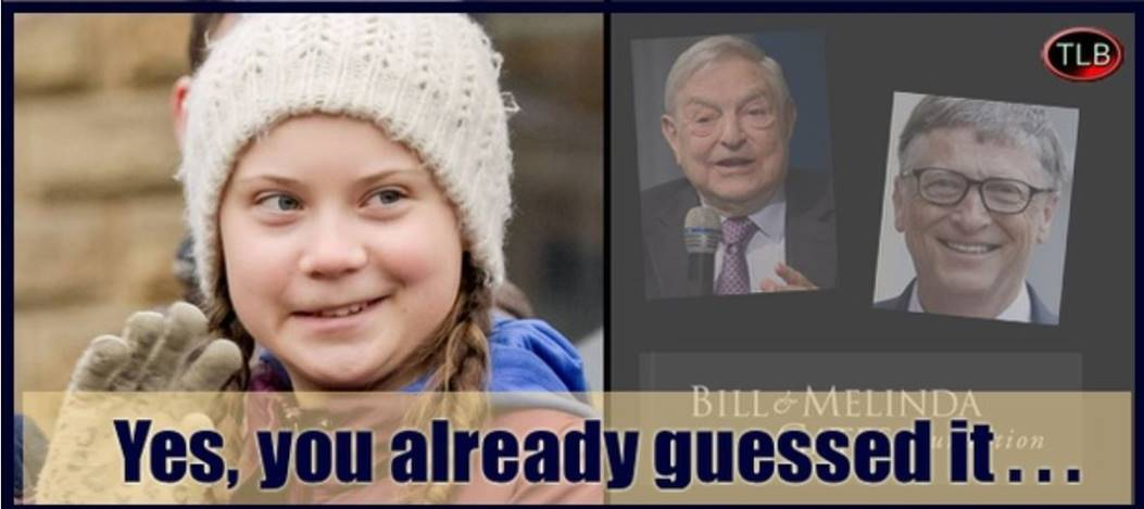 george Soros Bill Gates Greta Thunberg