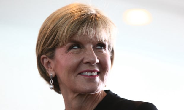 Julie Bishop sign paris agreement