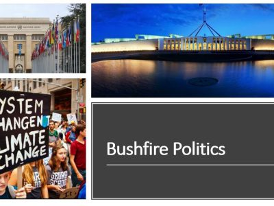 Bush Fires And Politics