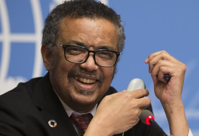 Director General of WHO Tedros