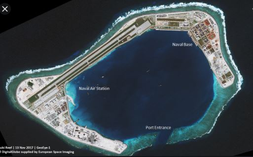 Spratly Is Sth China Sea