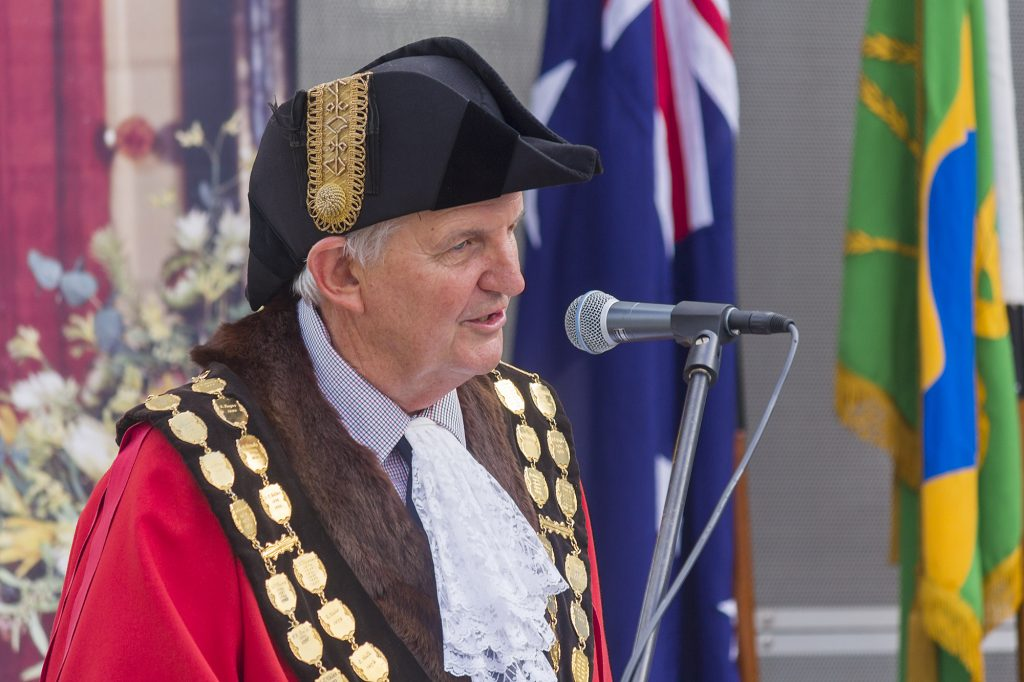 Mayor of Wagga Wagga Greg Conkey