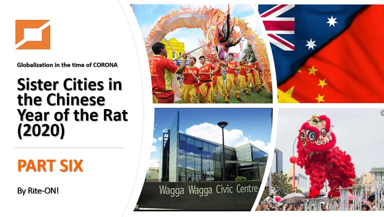 Sister Cities in the Chinese Year of the Rat